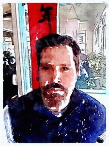 Rob in watercolor